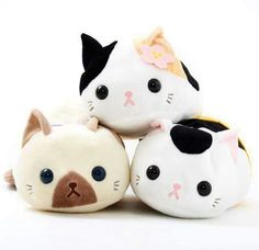 Kawaii and Quirky Kitty Items To Celebrate Cat Day! Crazy Cat Lady, Crazy Cats, Tokyo Otaku Mode, Kawaii Cute, Kawaii Stuff, Kawaii Things, Mode Shop, Cute Plush, All Things Cute