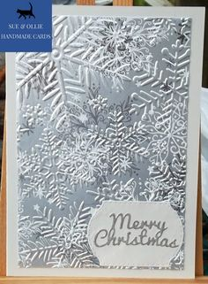Handmade Christmas, Snowflakes, Christmas Cards, Silver, Christmas E Cards, Snow Flakes, Xmas Cards, Christmas Letters, Merry Christmas Card