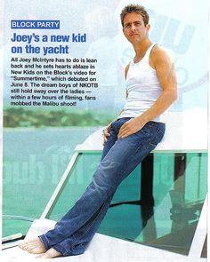 Joey McIntyre New Kid On The Yacht