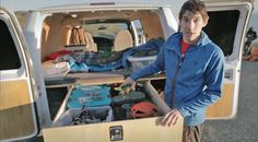 Alex Honnold give an exclusive tour of the van he calls home