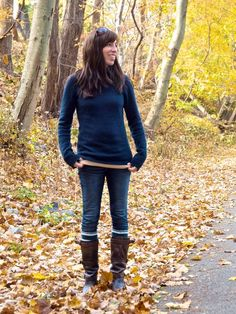 940d33384301d adorable fall outfit ancient Gap sweater layered over J.Crew cashmere  v-neck for extra warmth