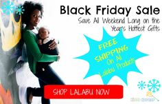 Click here to shop Lalabu products this Black Friday weekend: http://kiddokorner.com/lalabu/