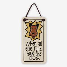Spooner Creek: Mini Charmer Tiles: Hug the Dog