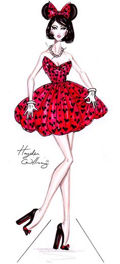 Costume Couture by Hayden Williams: Pretty Minnie