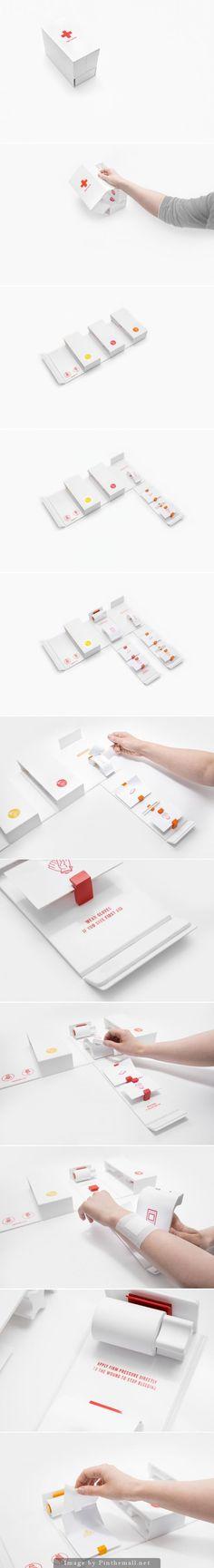 FIRST AID KIT BY GABRIELE MELDAIKYTE | packaging | Pinterest / Smart / Minimal / Organized / Useful