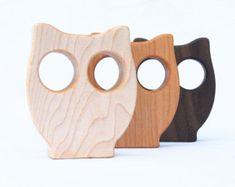 Sonajero de madera del pájaro / / An Eco-Friendly por manzanitakids