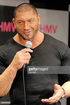 WWE wrestler Dave Batista appears at fan event at HMV Shibuya on March 5 2009 in Tokyo Japan Batista Wwe, Frank Lee, Drax The Destroyer, Hot Guys Eye Candy, Dave Bautista, Beefy Men, Becky Lynch, Sports Stars, Wwe Wrestlers