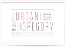 invitations-on nice thick paper. 50 for  $147.00