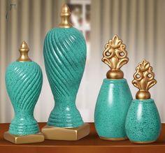Peças decorativas em cerâmica para todos os gostos e estilos.