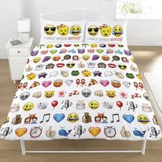 Emoji multi duvet cover set reversible bedding smiley bob the builder bed sheets, emoji multi duvet cover set reversible bedding smiley faces single.