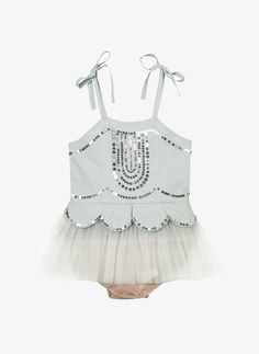 Tutu Du Monde Ever After Onesie - Sea Foam