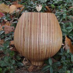 Wood Bowl Large HOLIDAY SALE Beautiful Layers by sunsetturnings