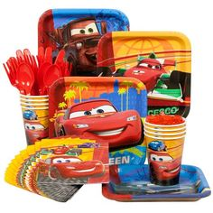 Disney Cars Party Standard Kit -Disney Cars Party Supplies