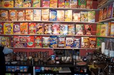 The Cereal Killer Cafe - a true gem of London