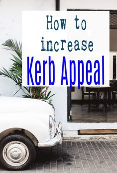 How to increase kerb appeal - exterior home design tps form the cheap and simple to more elaborate. Easy and effective ways to increase curb appeal and increase the value of your home   #kerbappeal #curbappeal #home #abeautifulspace Beautiful Space, Beautiful Homes, Kerb Appeal, Amazing Transformations, Home Hacks, Simple House, Easy Projects, How To Find Out, Easy Diy