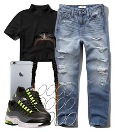"""""""11 9 15"""" by miizz-starburst ❤ liked on Polyvore featuring Abercrombie & Fitch, ASOS and NIKE"""