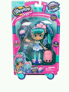 Shopkins Series 8 Wave 1 Doll Europe Macy Macaron: Shoppies World Vacation Themed Dolls, Size: Assorted Shopkins World, Shopkins Bday, Shoppies Dolls, Shopkins And Shoppies, Shopkins Season 8, Moose Toys, Visit France, Toys Online, Jouer