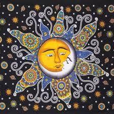 Resultado de imagen de sun and moon drawing