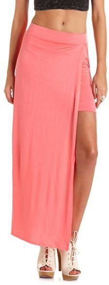 #Charlotte Russe          #Skirt                    #High #Side #Slit #Maxi #Skirt: #Charlotte #Russe   High Side Slit Maxi Skirt: Charlotte Russe                                    http://www.seapai.com/product.aspx?PID=987952
