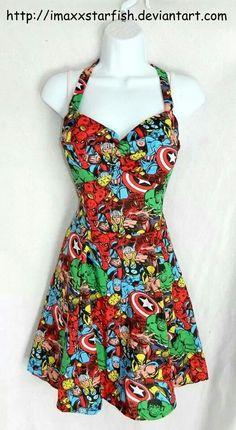 Avengers dress