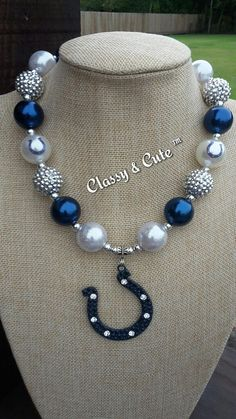 Check out this item in my Etsy shop https://www.etsy.com/listing/477359776/colts-team-necklace