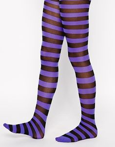 ASOS Halloween Stripe Tights