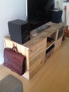 Tv-meubel van pallethout!