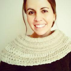 DIY Katniss Everdeen inspired cowl, free tutorial! - Aprende a tejer el cuello-chaleco de Katniss Everdeen a crochet