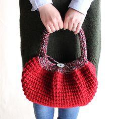 アフガン編みバッグ- 編み物キットオンラインショップ・イトコバコ