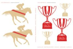 kentucky-derby-printables-large-horses-tan-trophies