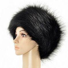 bbb8a272821 New Sale Ladies Faux Fox Fur Russian Cossack Style Hat Luxury Fur Fluffy  Beanie