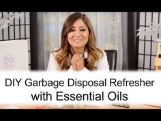 DIY: Garbage Disposal Refreshers | Do Essential Oils