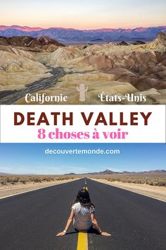 Visit DEATH VALLEY: 8 things from the Valley of Death to .- Visiter DEATH VALLEY : 8 choses de la Vallée de la Mort à faire et voir Discover Death Valley with my suggestion of 8 things to do, see and visit in this National Park of California. California Travel, Hawaii Travel, Travel Usa, Road Trip Usa, Voyage Usa, Blog Voyage, Valley Of Death, Death Valley National Park, National Parks Usa