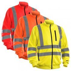 """Warnschutz Sweat-Shirt HIGH-VIS """"3358"""" - BLAKLÄDER® #Blåkläder #warnschutz #warnschutzshirt #workwear #arbeitskleidung"""