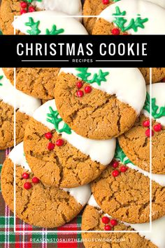 The holidays are here and sweets are the sweetest part of it all! Let your eyes take in all of the possibilities with these 25 Holiday Cookie Recipes for your friends and family this year!
