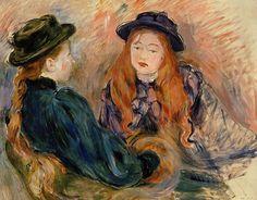 Conversation - Berthe Morisot