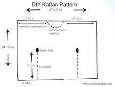 caftan pattern plus size - Google Search