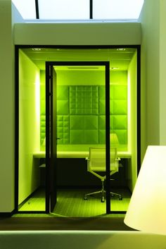 Images | BuzziSpace wall tiles in an office