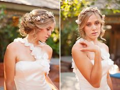 Romantic wedding Hair and Make-up by Steph