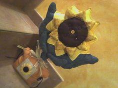 Fiore in stile Thun. Fiore Fermaporta in stile girasole Thun.