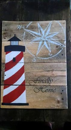 Finally Home displays the feeling of finding your way to a place of comfort. That one place where all else falls away and you are free to exist within yourself. Any beach, light house, or coastal lovers, this 16x20 piece is the sign for you!  Gray Designs are completely customizable. During checkout, please specify the color you would like for your sign. With customization of dimension, there is a change in price and shipping, however, any size request is welcome! All designs are hand built…
