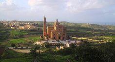 Gozo  Ta'Pinu Church Gharb,Gozo. Book your trip today - www.maltadirect.com