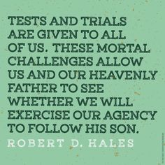 Tests and trials are given to all of us. Find comfort in your trials: http://oak.ctx.ly/r/2ww6q