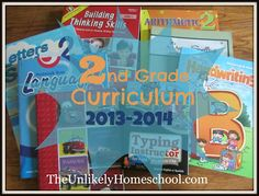 The Unlikely Homeschool: 2nd Grade Homeschool Curriculum 2013-2014