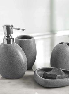 Urban pebble-shape accessories - Bathroom Accessories | Simons