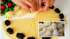 Jednoduché lekvárové rožteky – cesto z 3 prísad: Fantasticky chrumkavé zvonku a krémové vnútri! Cantaloupe, Dairy, Ale, Cheese, Cookies, Fruit, Food, Mini, Hampers