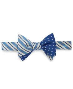 Dapper blue bow tie by Social Primer for @Brooks Brothers