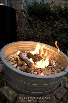 Firepit for late night marshmellow roasting