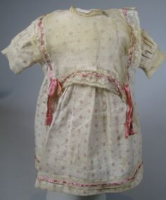 Factory Original German Antique Doll Dress