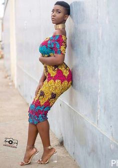 New latest african fashion look . African Attire, African Wear, African Women, African Dress, African Style, African Print Fashion, African Fashion Dresses, African Prints, Ghanaian Fashion